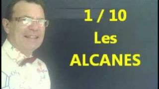 Les alcanes - Nomenclature des composés (1/10) en Chimie organique