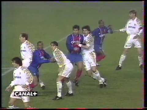 PSG 3-1 Parme (1/4 Retour de Coupe des Coupes 1995-1996)
