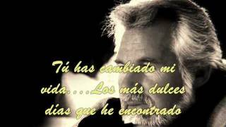 KENNY ROGERS-THROUGH THE YEARS (subtitulada)