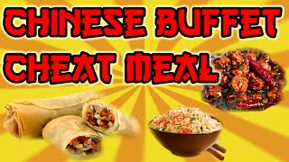 | 5000+ Calorie Cheat Meal || All you can eat chinese buffet || Food Challenge |