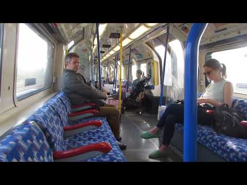 A Train Ride on Piccadilly Line 1973 Stock From Hammersmith to Acton Town