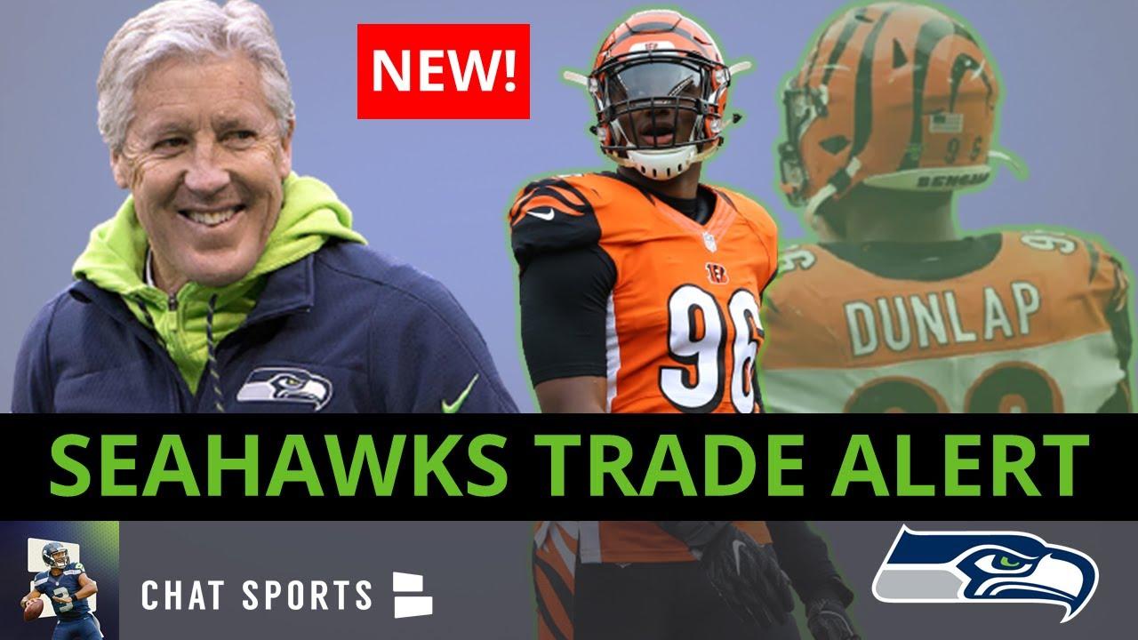 Cincinnati Bengals trade Carlos Dunlap to Seattle Seahawks ...