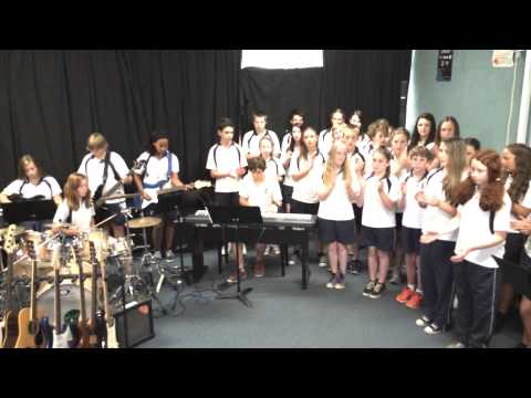 Eden students paint us a song