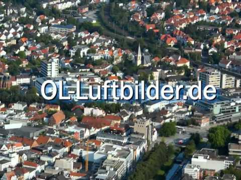 Stadt Oldenburg Luftaufnahme