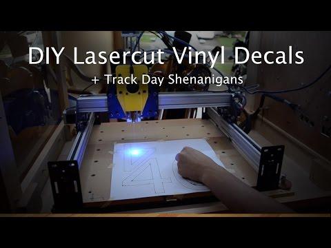 DIY Laser Cut Decals – Shapeoko Project #40