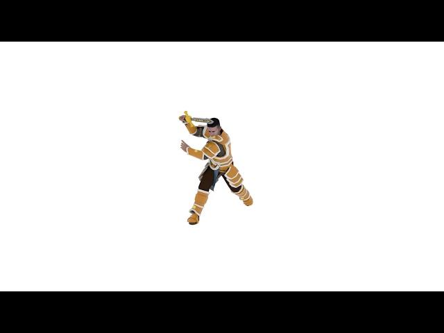 Warrior Children - James Attack Animation