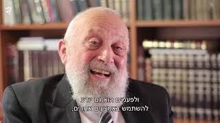 """הרב אדלר בעדותו על הגירוש לגטו מתוך הסרט """"המשכיות בתוך השבר"""" – סיפורו של הרב סיני אדלר"""