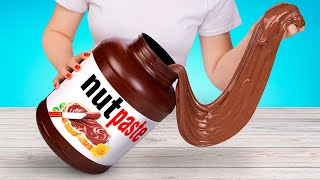 GIANT SLIME That Looks Just Like NUTELLA 💩
