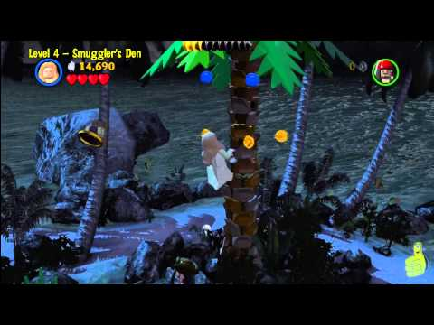 Lego Pirates of the Caribbean: Level 4 Smugglers Den - Story Walkthrough - HTG