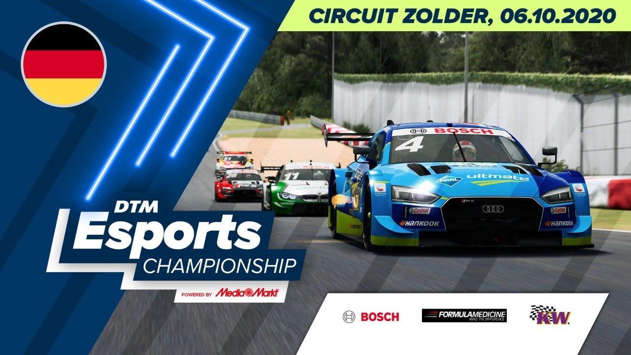 #DTMEsportsChampionship – Circuit Zolder (Round 2) - Deutsch