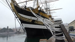 I 90 anni dell'Amerigo Vespucci. A bordo alla scoperta della