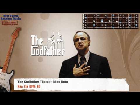 The Godfather Theme • Nino Rota Guitar Backing Track