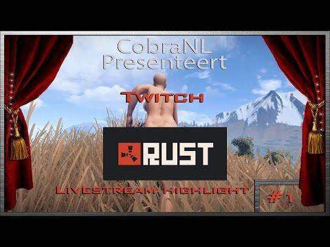Rust livestream highlight #1 |  Twitch | vanavond geen livestream | @Cobra01NL
