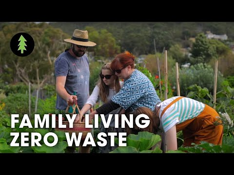 How A Family of 5 Creates Almost Zero Waste! - Life With Less Waste