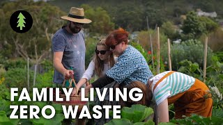 Tips for Zero Waste Living - How a Family of 5 Makes Almost No Waste! | Life With Less Waste