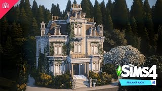 The Sims 4: Realm of Magic | Canyon Mansion
