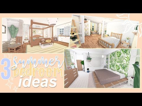 3-summer-bedroom-ideas-|-roblox-bloxburg