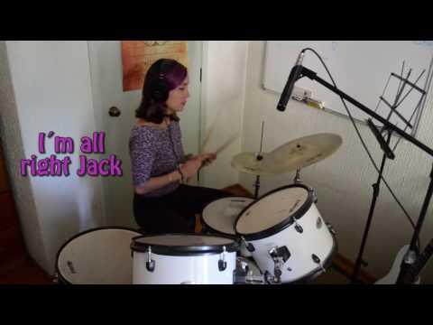 Money - Pink Floyd - Drum Cover with Lyrics