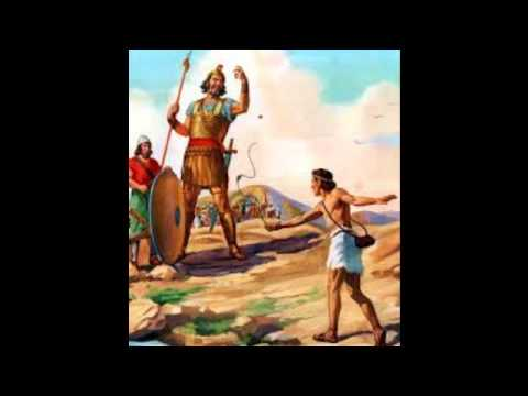 David und Goliath Kinderlied