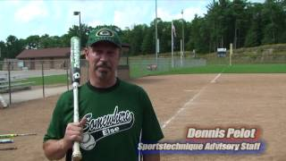 Softball Hitting Tips. Hit 50 Feet Further by Snapping the Hips n Wrists in Sync.SM10