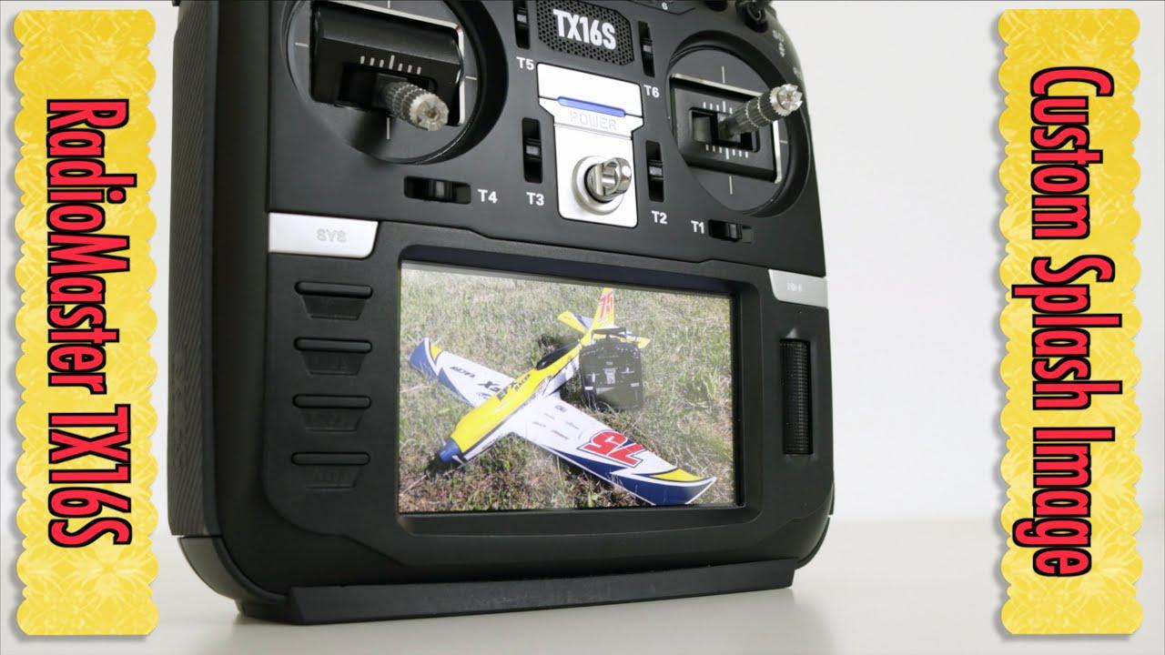 Radiomaster TX16S Custom Splash Screen Image Tutorial - OpenTX 🇸🇮
