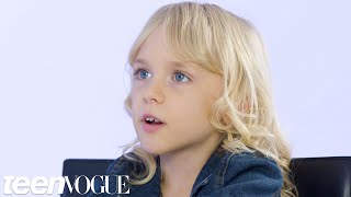 7-Year-Old Kai Shappley on Growing Up Trans | Teen Vogue