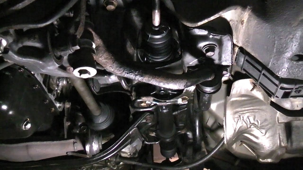 94 97 Honda Accord Steering Rack Replacement Part 2 Youtube