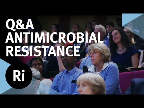 Q&A - Antimicrobial Resistance: The End of Modern Medicine? with Dame Sally Davies