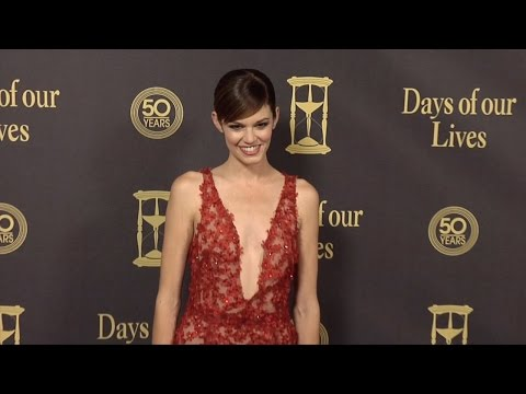 Rachel Melvin Red Carpet Style at Days of Our Lives 50 Anniversary Party