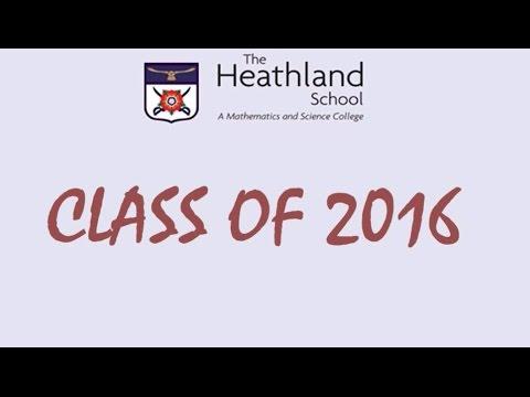The Heathland School Leavers 2016