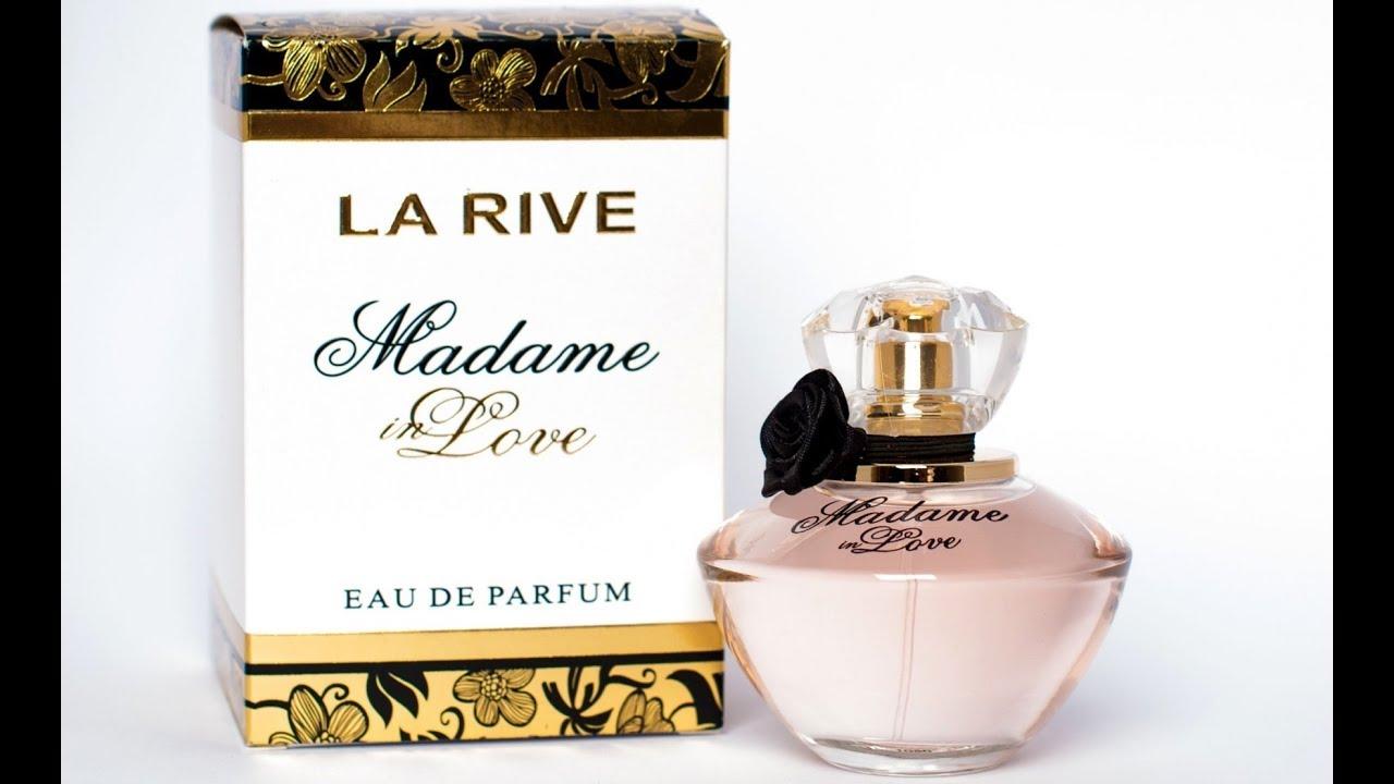 Perfume Madame In Love La Rive Resenha Youtube