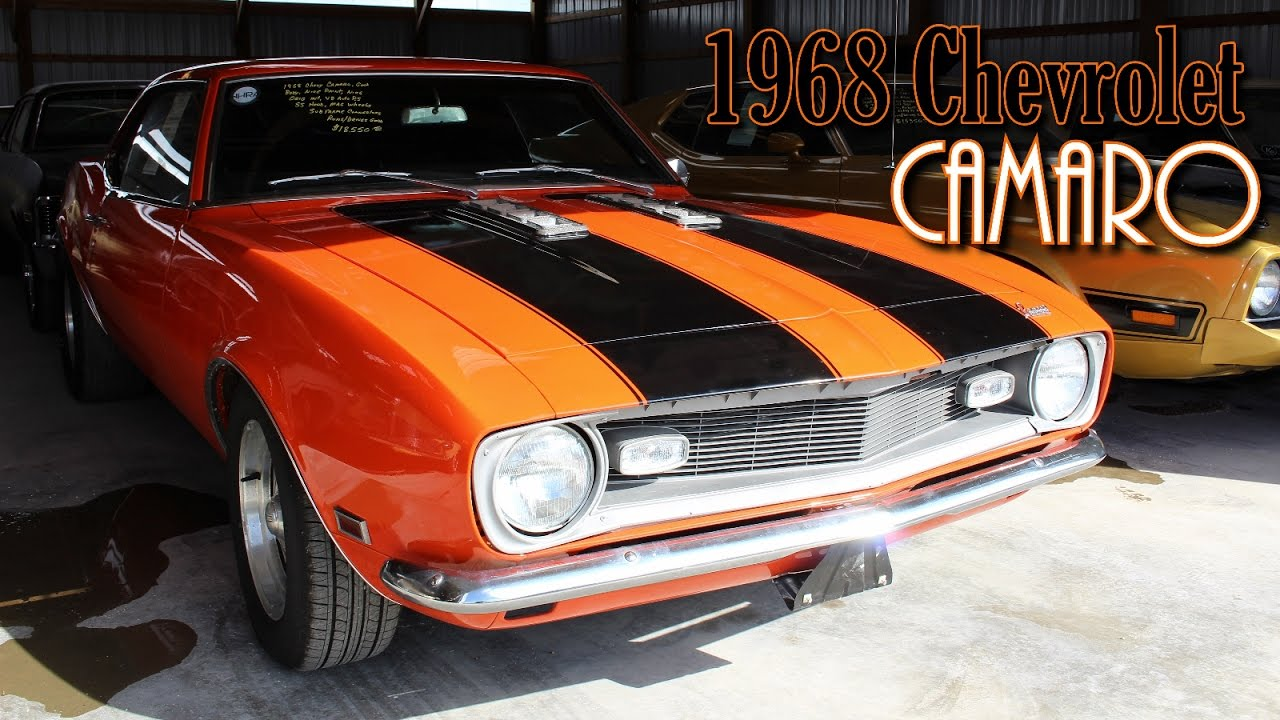 1968 Chevrolet Camaro from Country Classic Cars - YouTube