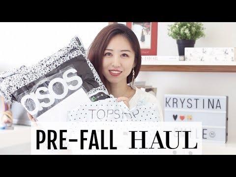 【EasyToWear】Pre-Fall Huge Haul& TryOn  (Topshop| Asos| Bellenista| Petite NY)