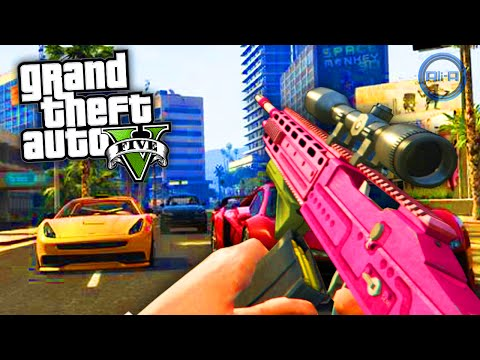 "GTA 5 Gameplay Online ""NEW CAR & HOUSE!"" - (Grand Theft Auto ..."