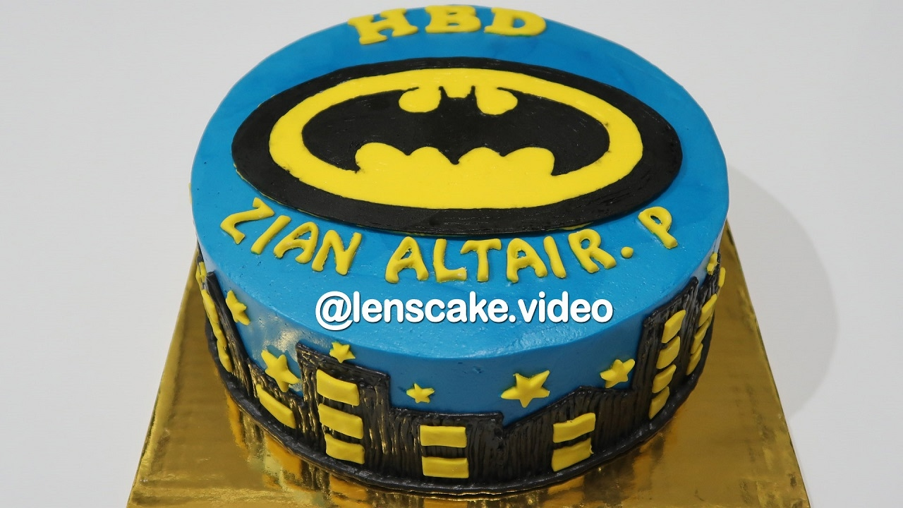 Batman Arkham City How To Make Birthday Cake For Kids