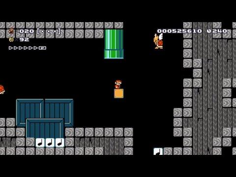 Clayton Says A Naughty Word! - Super Mario Maker
