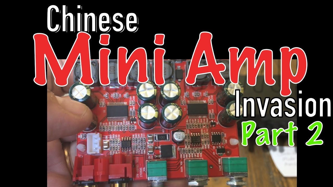 Chinese Mini Amp Invasion 2 Tpa3116 And More Bigdwiz Thewikihow Class D Amplifier Circuit Tpa3116d2 Tpa3118d2 Subwoofer