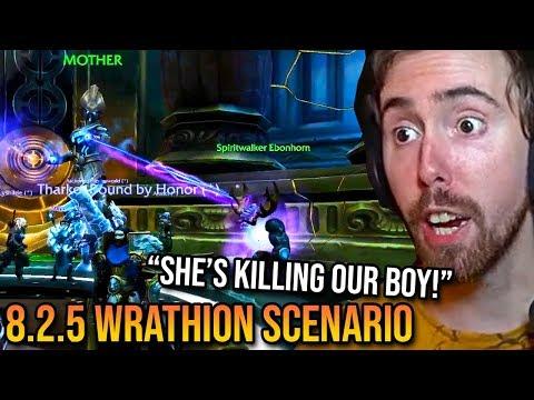 Asmongold Plays Brand New Wrathion Scenario (Patch 8.2.5 PTR - ft. Pyromancer)