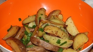 Картофель по-селянски. Картошка по деревенски.
