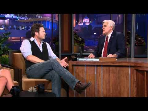 Blake Shelton, on Jay Leno 11.06.15 talking about Xenia, The Voice