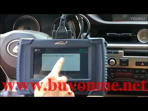 How to use Lonsdor K518ISE Key Programmer to back up eeprom data for Toyota  All Key Lost?