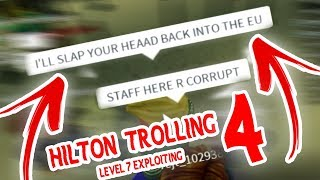{EP4} EXPLOITING AND TROLLING AT HILTON HOTELS AGAIN! [ROBLOX]