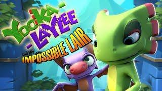 Na Ratunek Światu  First Look: Yooka-Laylee and the Impossible Lair || Niezdobyta Forteca