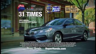 Don't Miss the 2017 Honda Civic On Clearance from $169/Month