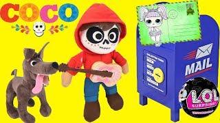 coco movie magic mailbox with lol confetti pop surprise dolls wave 2