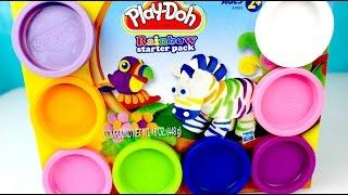 Plastilina Play Doh Caja de Muchos Colores| Aprende Los Colores