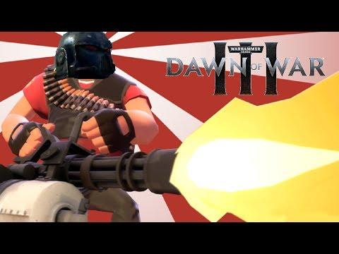 PIN THEM XENOS | Warhammer 40,000: Dawn of War 3 - Space Marines vs Eldar