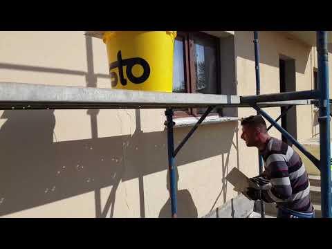 Tencuiala Decorativa Exterior Sto Preturi.Aplicare Tencuială Decorativă Siliconată Sto Youtube