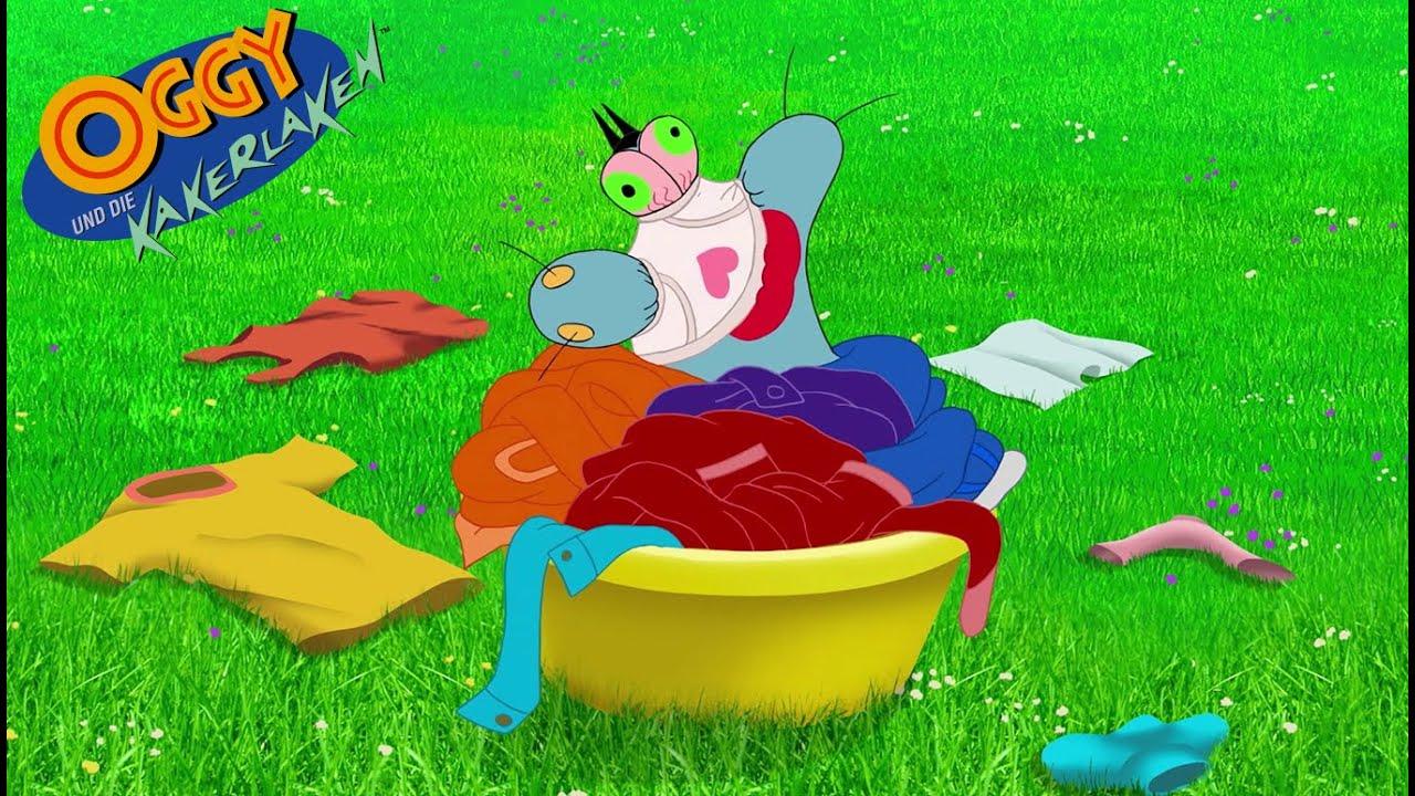 Oggy und die Kakerlaken 🧼👕 Wäsche kompilation 👕🧼 Volledige aflevering in HD