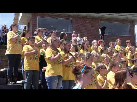 The National Anthem Presented by Alma Intermediate School 4th/5th Grade Honor Choir